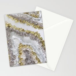 Geode Art Stationery Cards
