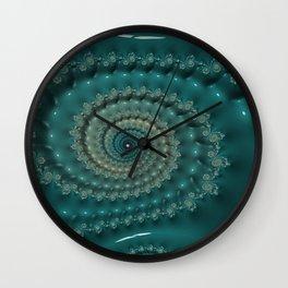 Blue Pearl Wall Clock