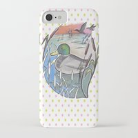 ducks iPhone & iPod Cases featuring Ducks by Inez Gulyas