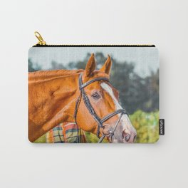 Horse head photo closeup Carry-All Pouch
