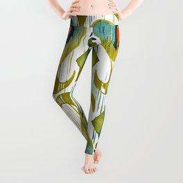 Balinese Pattern 09 Leggings