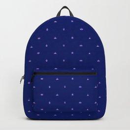 Robots Pattern Backpack