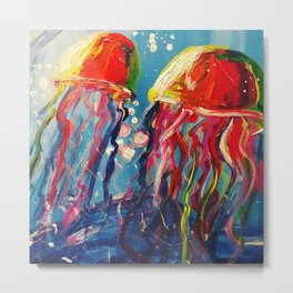 Jelly...fish Metal Print