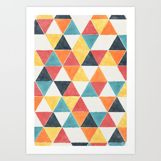 Trivertex Art Print