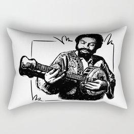 HATCHING GUITAR Rectangular Pillow
