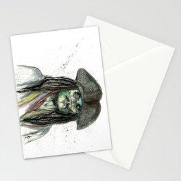 Captain Jack Zombie Stationery Cards