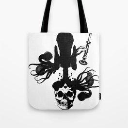 Flesh, Bone, Blood, Love Tote Bag