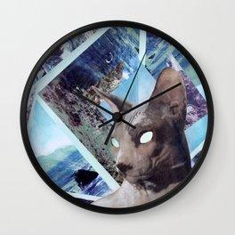 Nude Cat Wall Clock