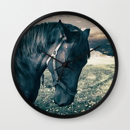 Horse friend Wall Clock