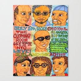 Island Head Poster Canvas Print
