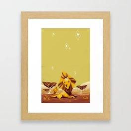 Lions Framed Art Print