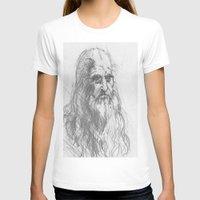 leonardo T-shirts featuring Leonardo by Kathryn Gabrielle Mauno