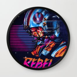 Rebel Rebel Wall Clock