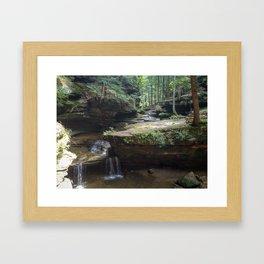 Hicking Framed Art Print