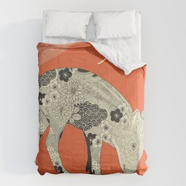 PIG YEAR Comforters