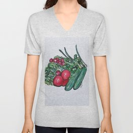 Freshly Uncut Salad Unisex V-Neck
