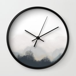 Silent Forest Wall Clock