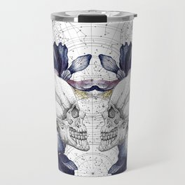 SKULLS & IRIS Travel Mug