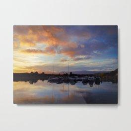New Zealand Sunrise Metal Print