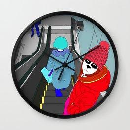 Escape From Below Wall Clock