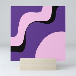 violet ice Mini Art Print