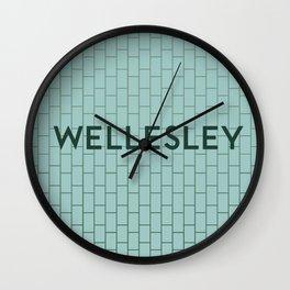WELLESLEY | Subway Station Wall Clock