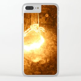 Old filament Clear iPhone Case