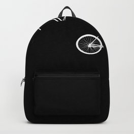 Ghost Bike Riding Rider Lover Backpack