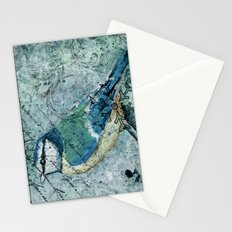 Winter's tiny voices Stationery Cards