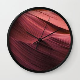 The Pink Sands Wall Clock