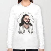 heavy metal Long Sleeve T-shirts featuring Heavy Metal Venus by Helen Green