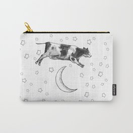 Cow Jumping Over The Moon Carry-All Pouch