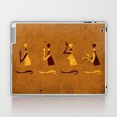 Forms of Prayer - Yellow Laptop & iPad Skin
