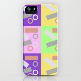 Checky Check iPhone Case