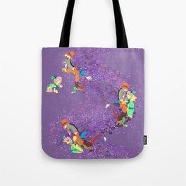 Dance Fluttercord Tote Bag