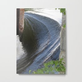 Lines of Power Metal Print