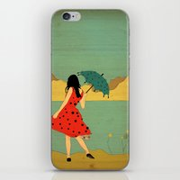 lonely iPhone & iPod Skins featuring Lonely by Danelys Sidron