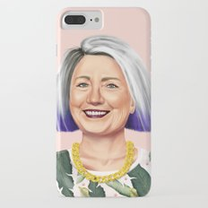 Hipstory - Hillary Clinton iPhone 7 Plus Slim Case