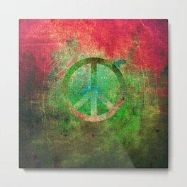 Peace IV Metal Print
