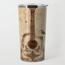 The Guitar's Song Travel Mug
