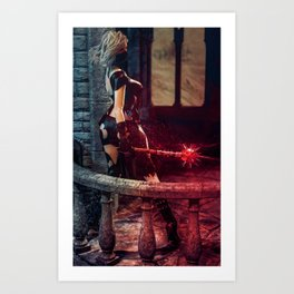 The Last Stand Art Print