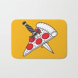 Pizza Tatt Bath Mat