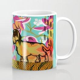 Dachshund  pop art Coffee Mug