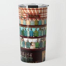 Antique Soda Bottles, San Telmo, Buenos Aires Travel Mug