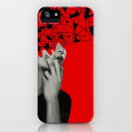 Abstraction - version 6. iPhone Case