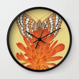 Taylor's Checkerspot Wall Clock