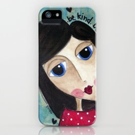 Coco's Closet- Be Kind. Be Brave. Be Honest. Be Daring iPhone Case