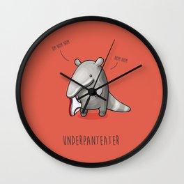 Underpanteater Wall Clock