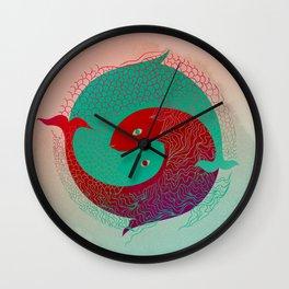 Year of the Fish Wall Clock