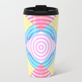 Psychedelic shapes Travel Mug